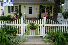 Front Yard Picket Fence