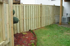 Wood Yard Fence