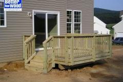 Waldorf Wood Deck