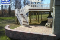 Deck with Patio