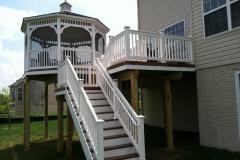 Deck with Gazebo